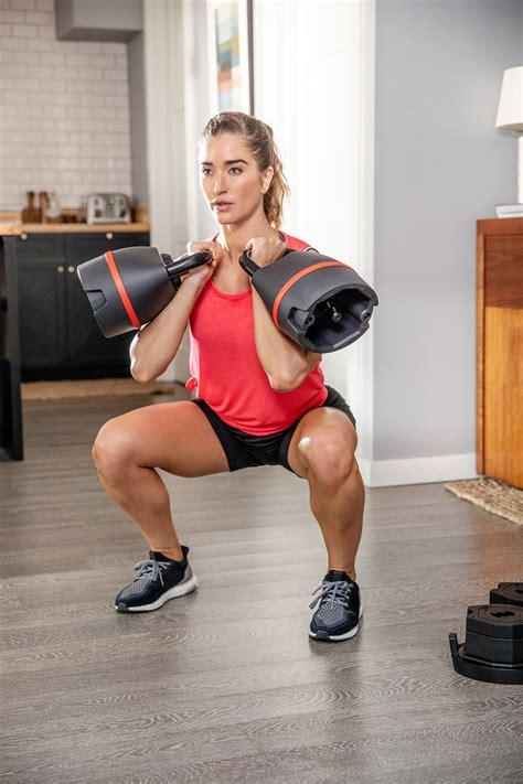 kettlebell adjustable workouts bowflex addition perfect kettlebells woman selecttech pa