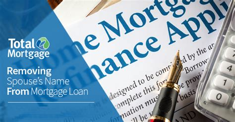 Getting A Divorce? Removing Spouse's Name From Mortgage