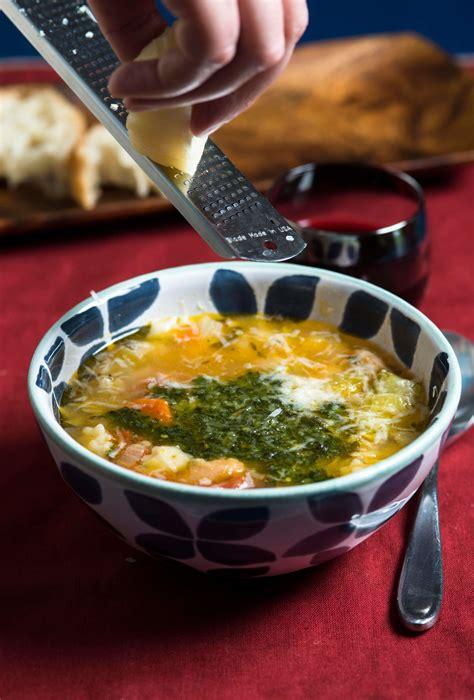 recipe minestrone