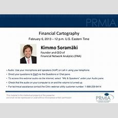 Financial Cartography  Prmia Webinar