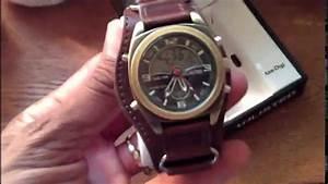 Kenneth Cole Unlisted Analog-digital Watch