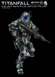 Titanfall IMC Battle Rifle Pilot by ThreeZero - The Toyark ...