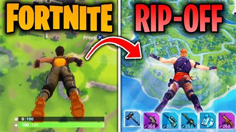 top  games  copied fortnite battle royale fortcraft