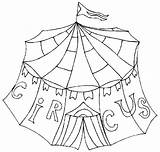 Circus Coloring Pages Printable Train Getcoloringpages Preschool sketch template