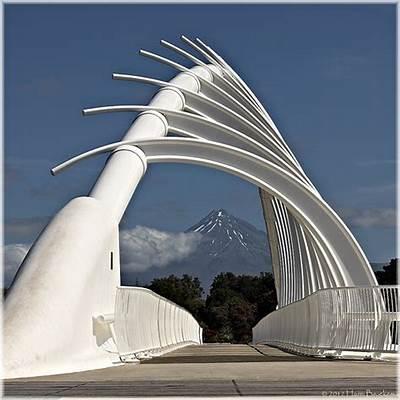 Te Rewa bridgeTe bridge with mount