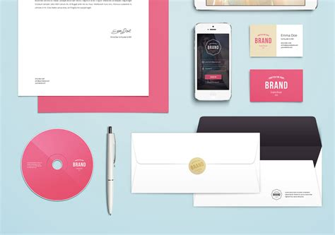 Cool Graphic Templates Photoshop by 25 Free Psd Templates To Mockup Your Print Designs