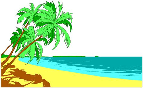 beach palm tree pictures   clip art