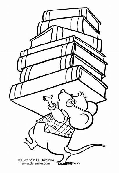 Coloring Library Pages Week National Popular