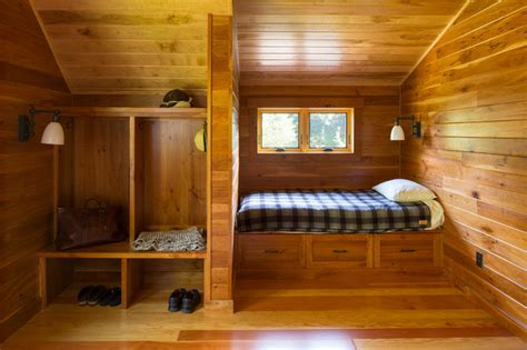 trout fishing cabin rustic bedroom minneapolis