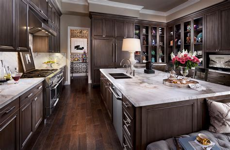 Impressive Espresso Cabinets method Las Vegas Traditional