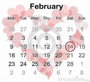 Schaltjahr Berechnen : kalender f r februar 2015 mit markiertem valentinstag stock abbildung bild 49382283 ~ Themetempest.com Abrechnung