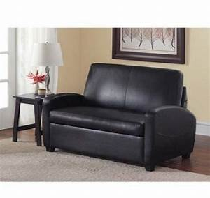 sofa bed sleeper sofabed pull out couch faux leather With convertible sofa with pull out bed