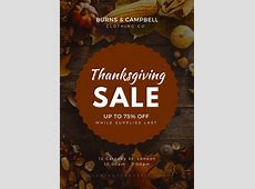 Customize 40+ Thanksgiving Poster templates online Canva