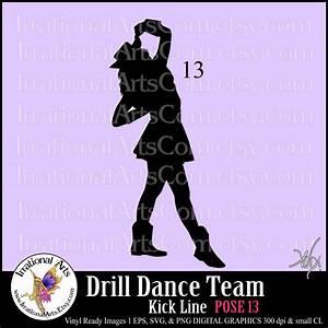 Dance Team PNG Kickline Transparent Dance Team Kickline ...