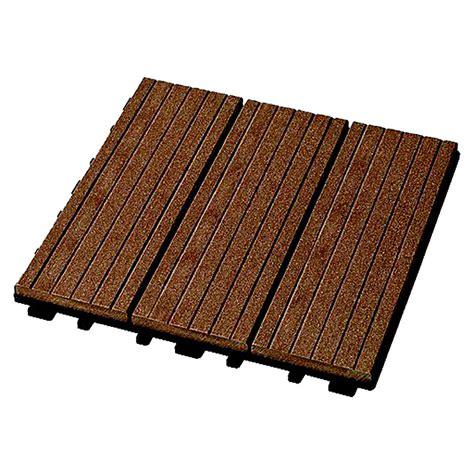 Rettenmeier Wpcklickfliese (marone, 30 X 30 Cm, 4er Pack