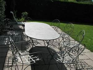 Table Jardin Fer Forgé : tables de jardin en fer forg ~ Dailycaller-alerts.com Idées de Décoration