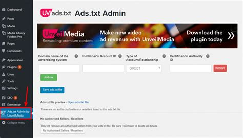 Adstxt Admin Review How To Add Adstxt File To Wordpress