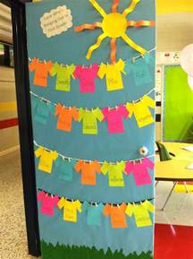 back to school classroom door students can decorate their own shirts bulletin boards doors