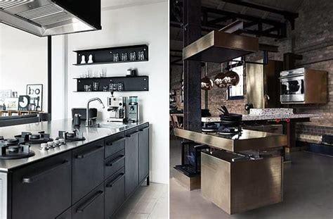 cocinas de acero inoxidable caracter industrial
