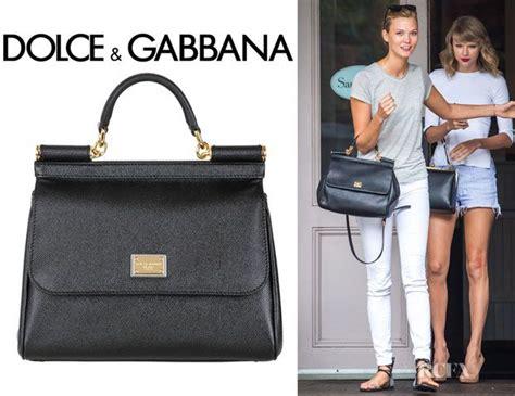 Karlie Kloss Dolce Gabbana Sicily Dauphine Leather