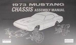 1973 Ford Mustang Wiring Diagram Manual Reprint