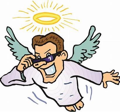 Clipart Flying Angel Cartoon Angels Male Boy