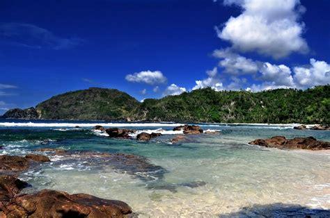 pantai terindah  jogja  panorama cantik