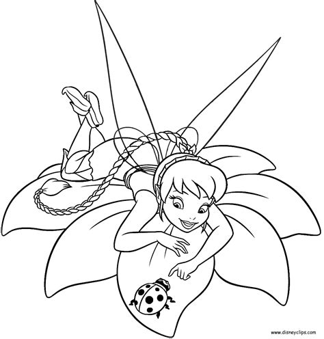 Printable Tinkerbell Coloring Pages modern valentine