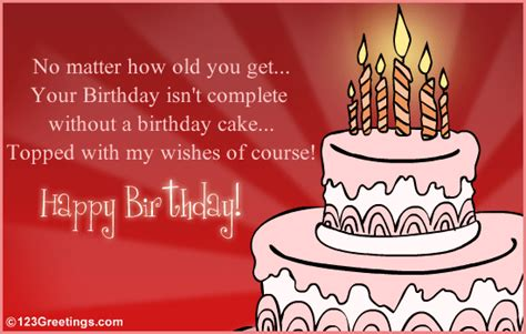 birthday cake topped  wishes  cakes balloons ecards