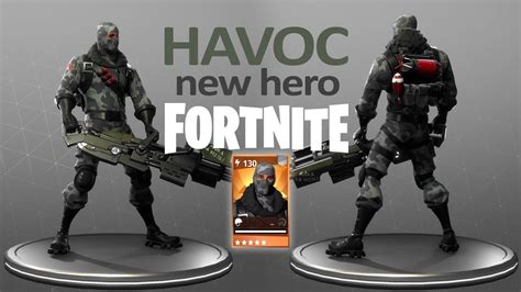 fortnite havoc gameplay save  world youtube