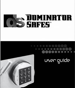 Dominator Safe Lock Instructions