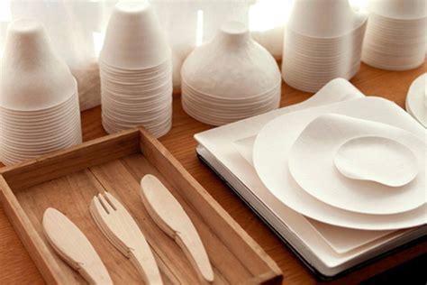 Wasara Elegant Single Use Tableware  Table Setting & Serving