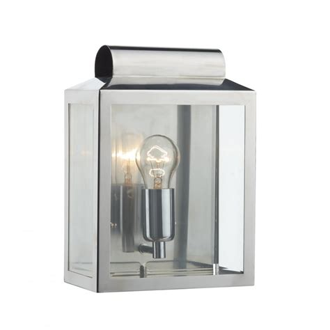 stainless steel wall lantern ip44 outdoor or indoor wall light