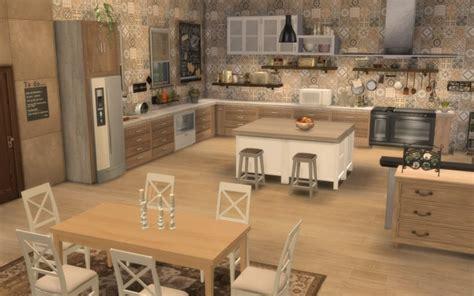 cuisine rustique chic sims 4 deco rustique cuisine kitchen chic moderne