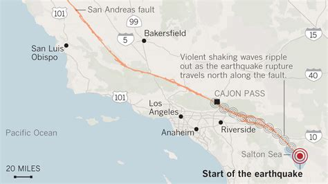 Signs of past California 'mega-quakes' show danger of the ...