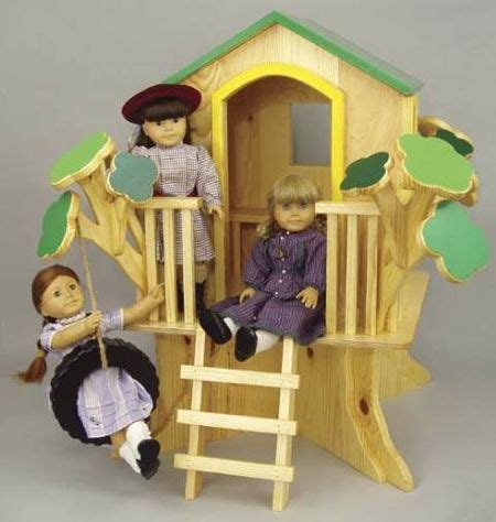 doll tree house woodworking plan woodworkersworkshop