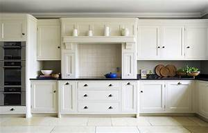 White Kitchen With Silver Handles — SMITH Design : Create