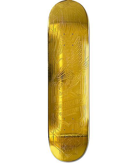 """Primitive Prod Gold Eagle 80"""" Skateboard Deck"""