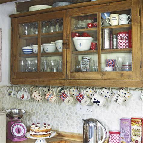 Country Kitchen Storage  Kitchen Cupboards Shelving