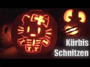 Halloween Kürbis Motive : halloween diy k rbis schnitzen youtube ~ Eleganceandgraceweddings.com Haus und Dekorationen