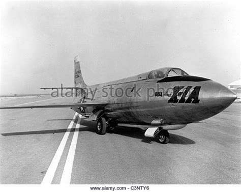 Supersonic Research Aircraft Stock Photos & Supersonic