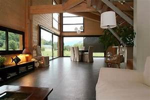 Interieur Maison Bois Contemporaine. maison contemporaine ...