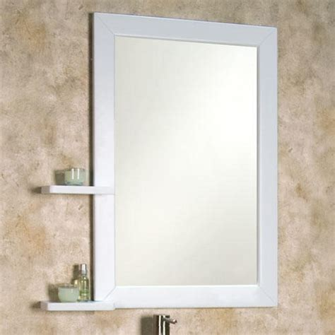 Bathroom Mirrors With Shelves by Mirror Shelves Bathroom Bathroom Vanity Mirror With Shelf