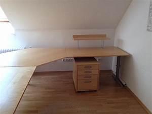 Ikea Büro Rollcontainer : ikea b ro eckschreibtisch schr nke rollcontainer in gr benzell b rom bel kaufen und ~ Markanthonyermac.com Haus und Dekorationen