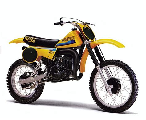 Suzuki Dirt Bike by 1980 Suzuki Rm250 Vintage Dirt Bikes Mx Bikes Vintage