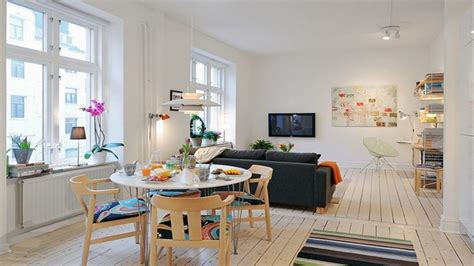 Size Living Room And Kitchen by Small Apartment Design Open Concept Kitchen Living Room