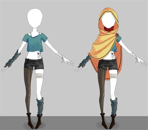 Adoptable outfit #19 - [Auction - CLOSED] by Eggperon.deviantart.com on @DeviantArt | Anime ...