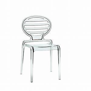 But Chaise Transparente : chaise transparente cokka par scab ~ Teatrodelosmanantiales.com Idées de Décoration