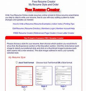 top 10 best websites to create free resume curriculum With best website to make resume