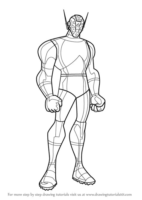 learn how to draw ultron from the avengers earth s